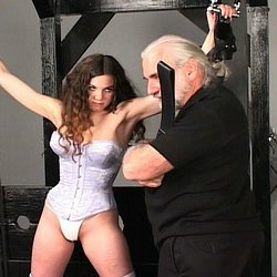 Whips pliers and chains  master len binds his slave in chains and uses whips and pliers to teach her a lesson Master Len binds his slave in chains and uses whips and pliers to teach her a lesson.  .