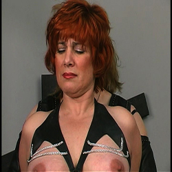 Abused milfbig titted milf gets her entire body beaten and anguished by master len.