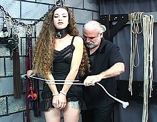Nicoles tune up 0. Master Len dresses his doll then beats her with his cain