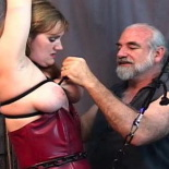 Pain virgins. Extreme lesbian tit tortured makes these girls cream
