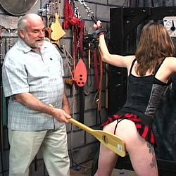 Nipples and blood. Master Len uses hooks to wreck and ravage his naughty slaves tits.