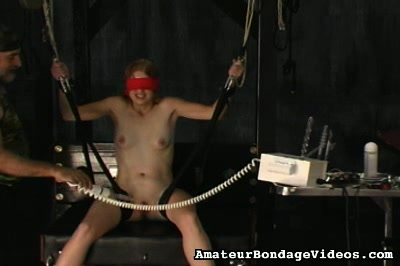 Nasty danielle punished. It is amazing how deep she can take all the dildos and all kinds of BDSM devices up her nasty slippery snatch